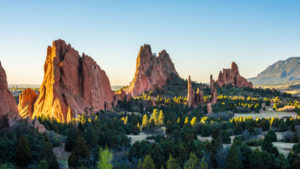 Sunrise at Garden of the Gods, Colorado Springs