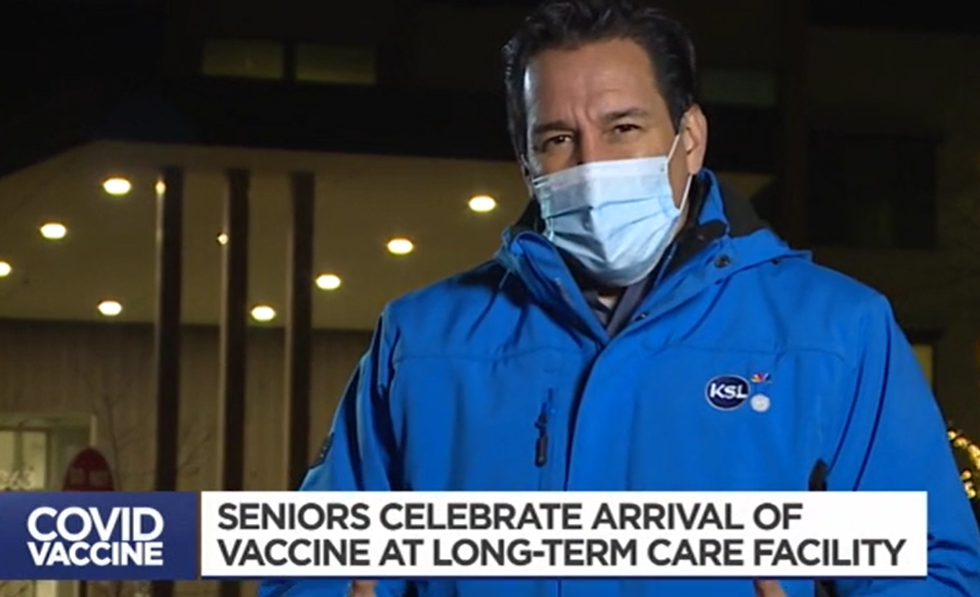 The Ridge Senior Living Resident and Team Members Receive the COVID-19 Vaccine | Jan. 2021