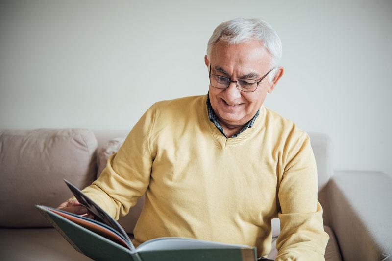 Books Designed for Dementia Patients | The Ridge