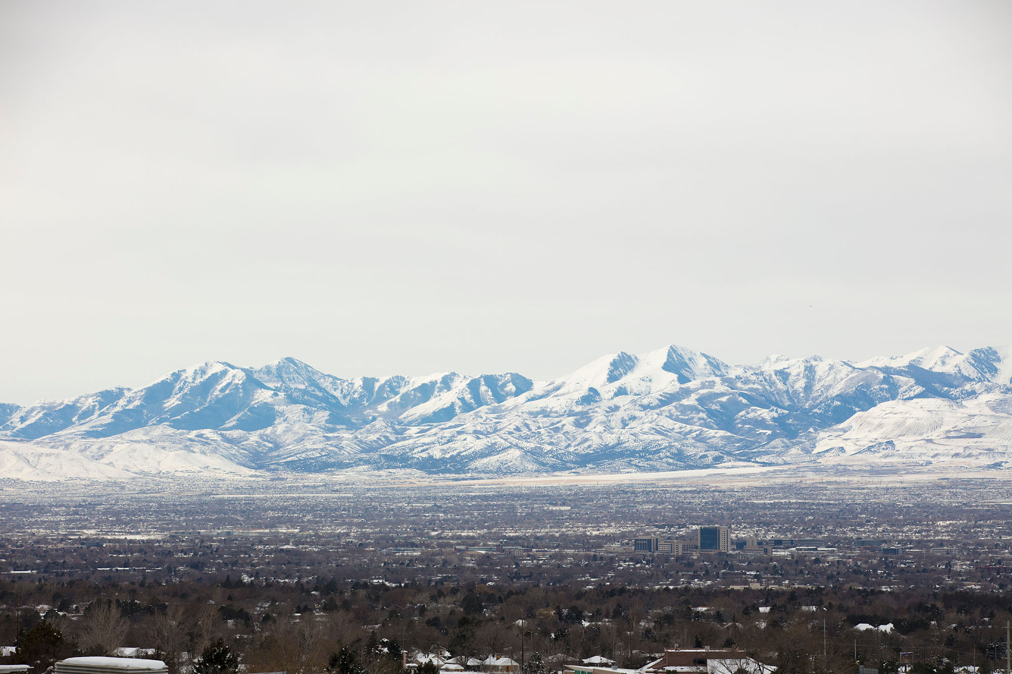 Mountains in the distance