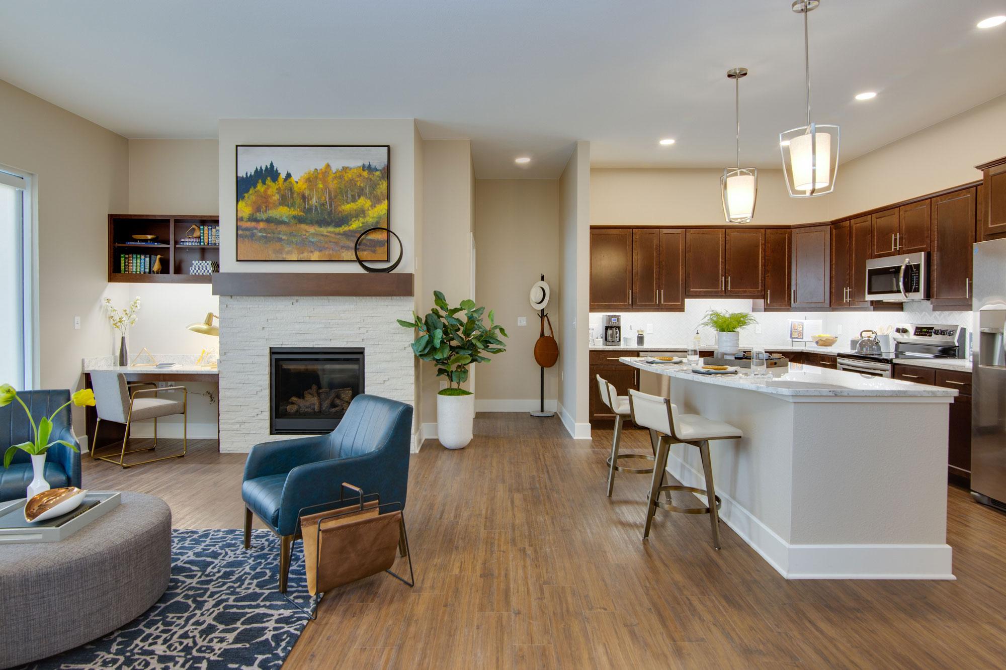 Pinehurst residence interior