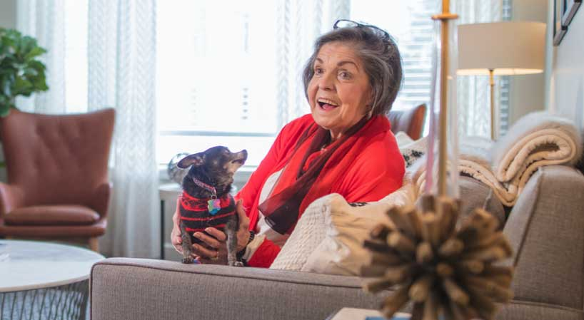 The Benefits of Owning a Pet as a Senior | The Ridge