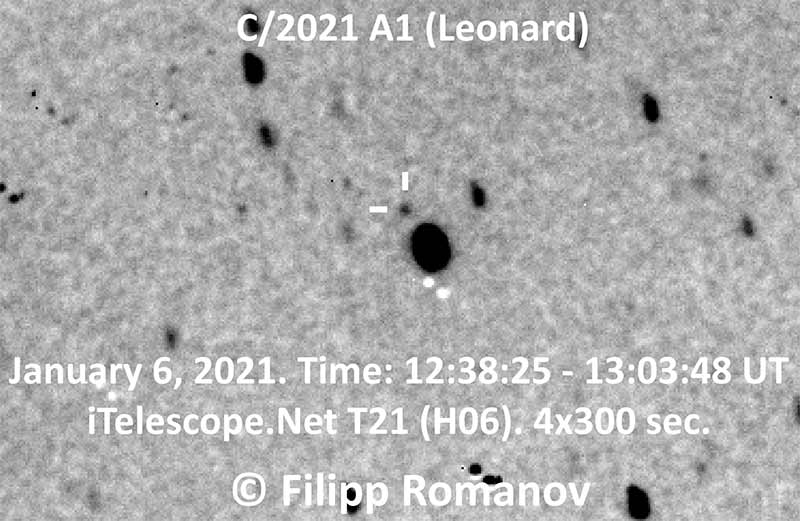 Christmas Comet 2021 Time What We Know About Comet Leonard C 2021 A1 Theskylive Com