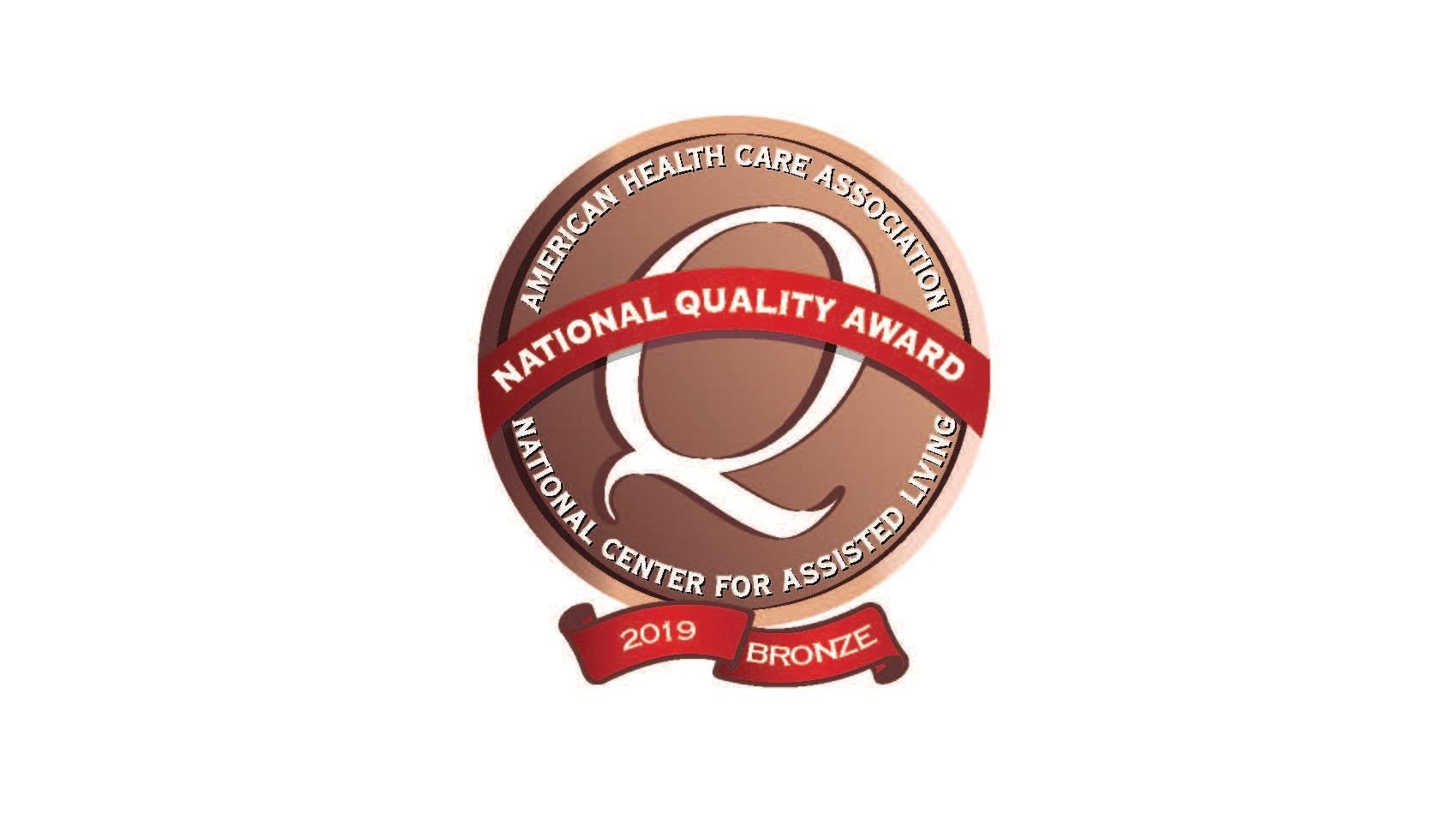 2019 American Health Care Association National Quality Award - Bronze
