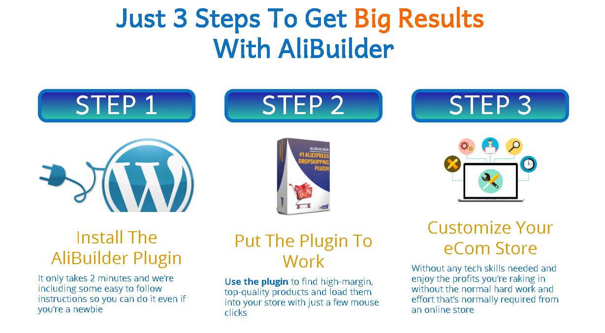 AliBuilder 3 steps to get big results