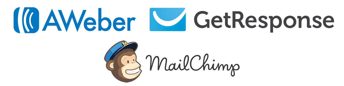 ProfitEagle Third Party Integration - AWeber, GetResponse, and MailChimp