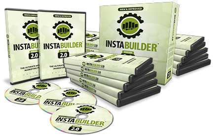 InstaBuilder 2.0 review dvd set