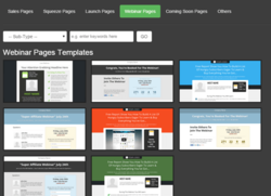 InstaBuilder 2.0 review page templates
