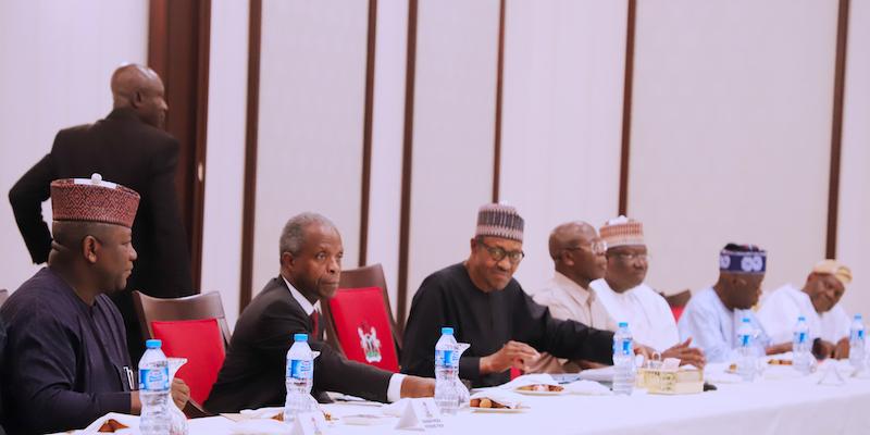 Buhari, Osinbajo, Governors, IGP Perfect Plans for Community