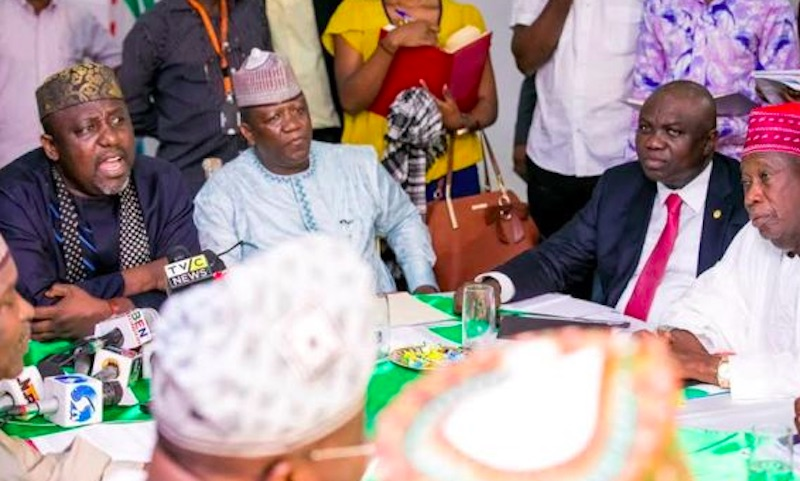 Image result for Nigeria Governors Forum
