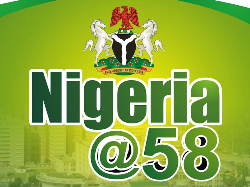 Image result for nigeria at 58