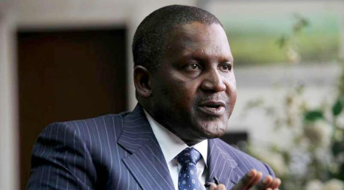 Dangote laments poor funding of public uniVersities