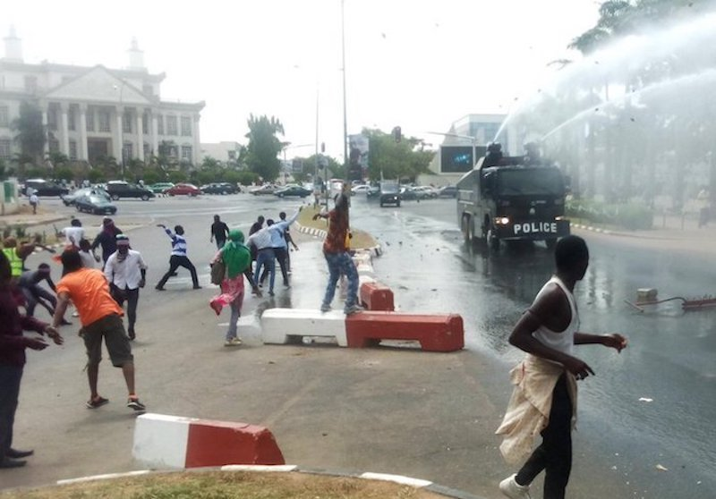 Image result for Police, Shiites clash again in Abuja