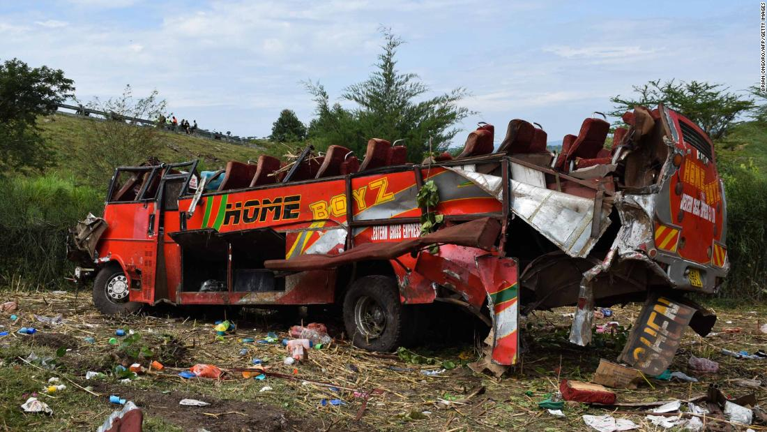 50 Killed In Kenyan Road Accident THISDAYLIVE