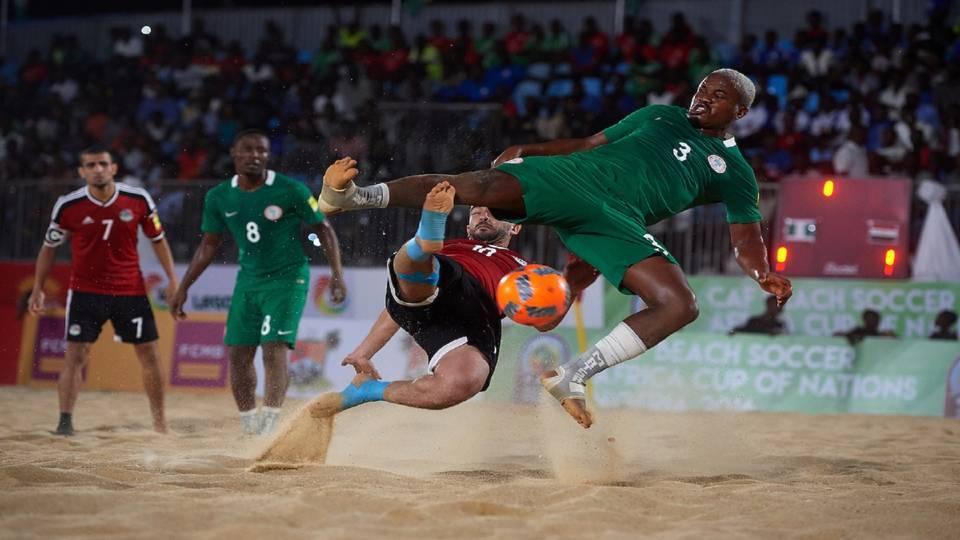 CAF BEACH SOCCER: Supersand Eagles Defeats Libya, Ready for Tanzania