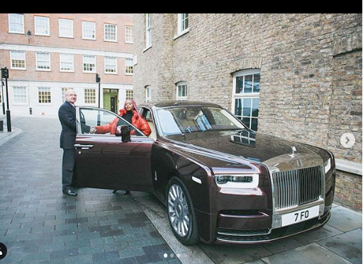 Image result for dj cuppy rolls royce