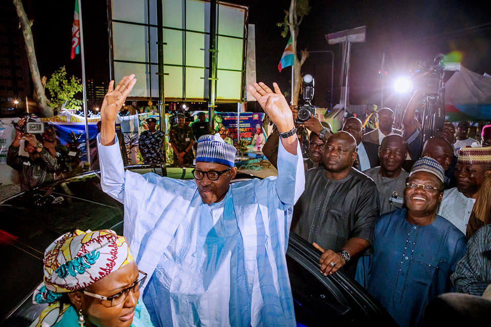 Image result for buhari election victory