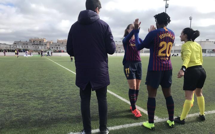 Bildergebnis für oshoala barcelona 2019