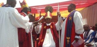 The enthronement of Rt. Rev. Best Enyinnaya Okike as Bishop, Uturu Methodist Diocese