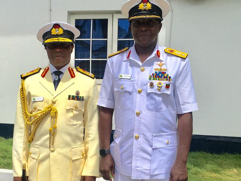 Image result for Nigeria Navy Ship, Commodore Ibrahim Shettima,
