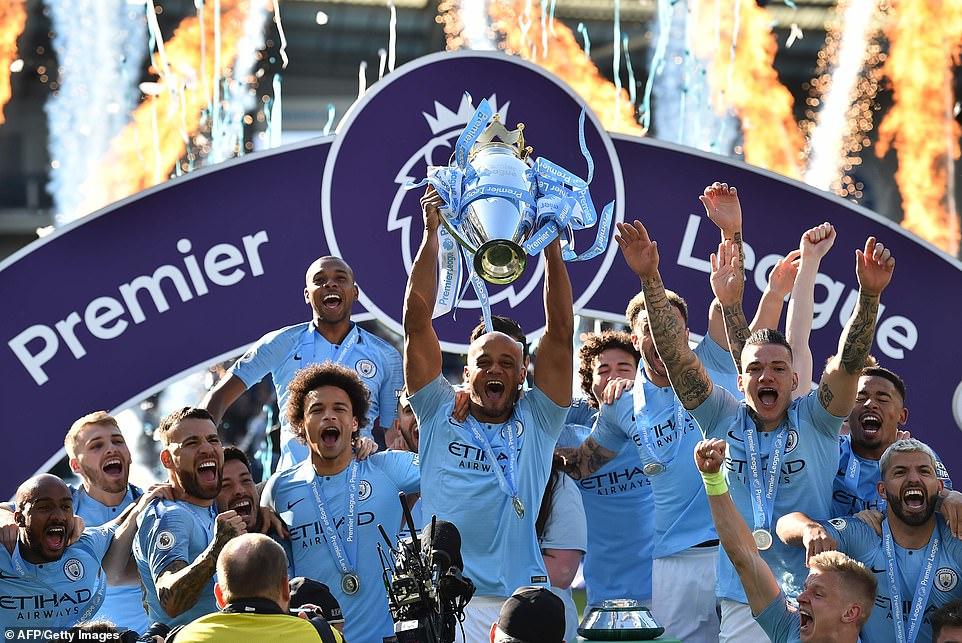 Man City Crowned Premier League Champions - THISDAYLIVE