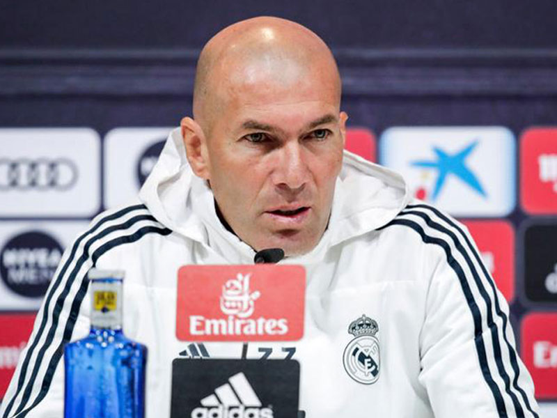Zidane Urges Real Fans to Keep Calm After Draw at Sociedad
