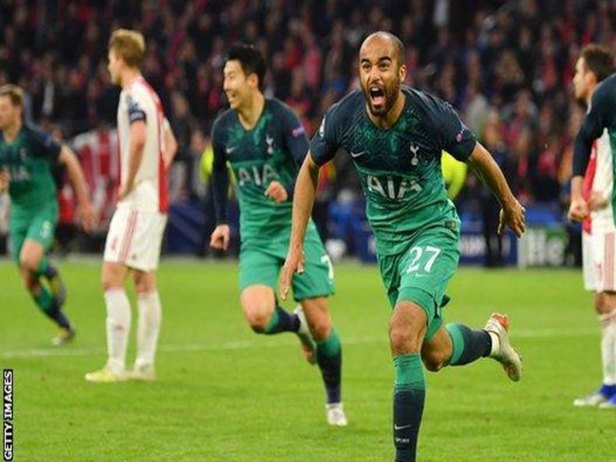 Tottenham's Injury-time Goal Sets up All-English Final