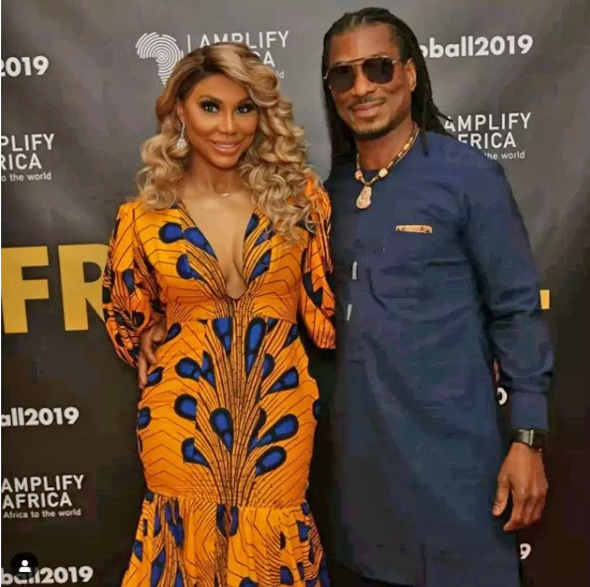 Image result for Tamar Braxton's Nigerian boyfriend, David Adefeso reveals how broken he met her when they started dating 12- months ago & she replies