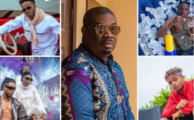 Don Jazzy's New Boys Step Out