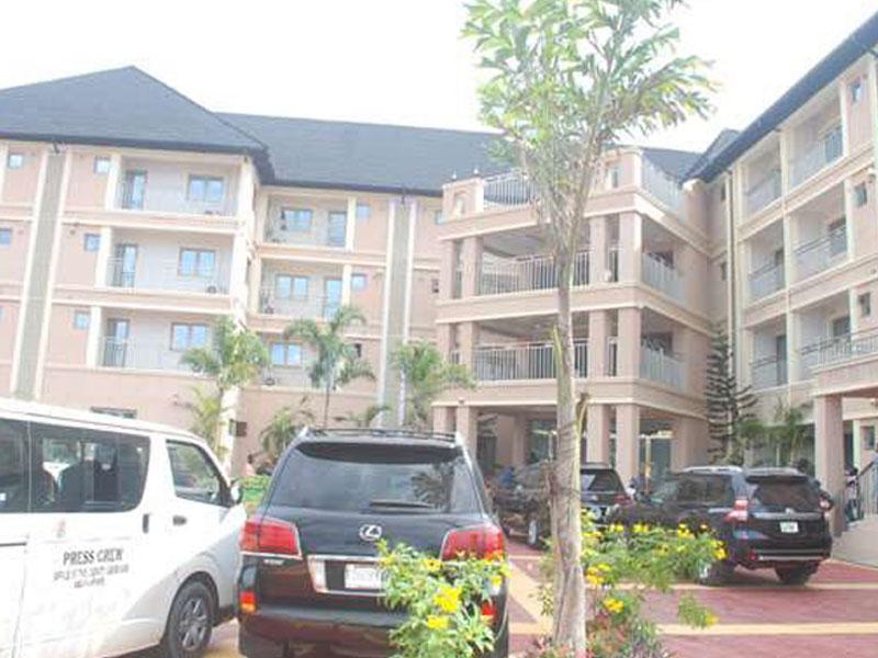Glitz, Glamour as Obasanjo Inaugurates World Class Hotel At Oleh