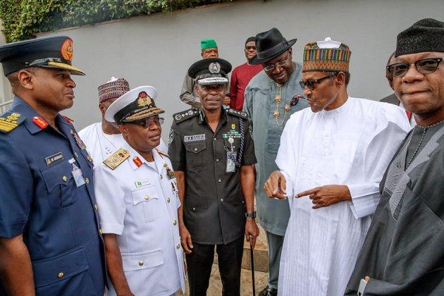 Govs Meet Buhari, Fail to Agree on State Police