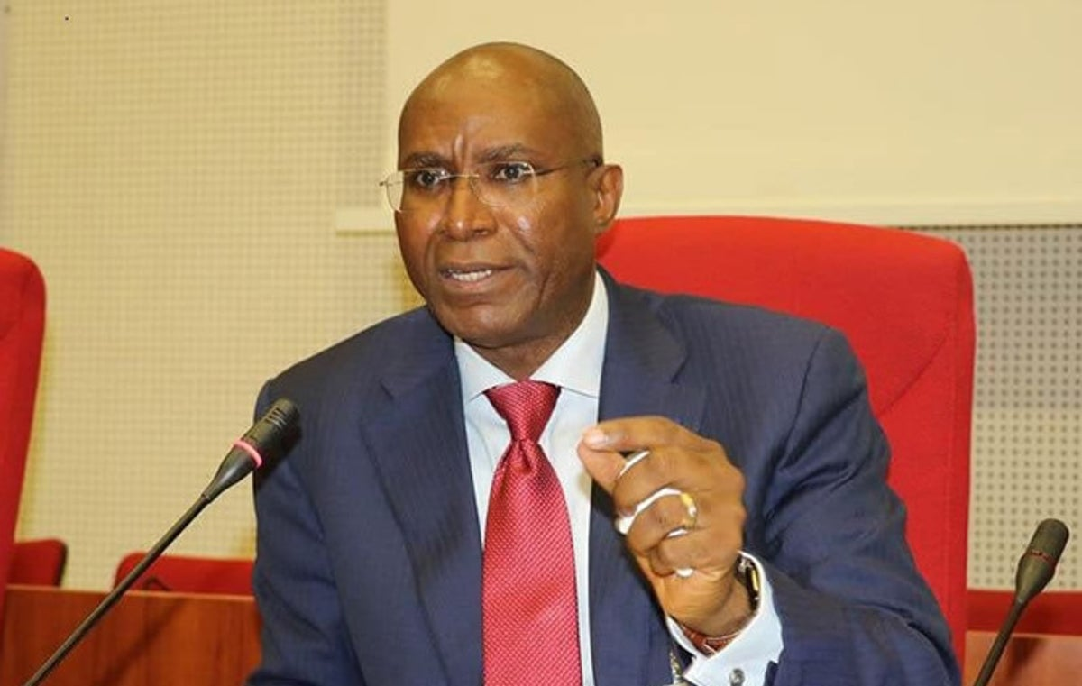 Omo-Agege felicitates with Boss Mustapha at 64