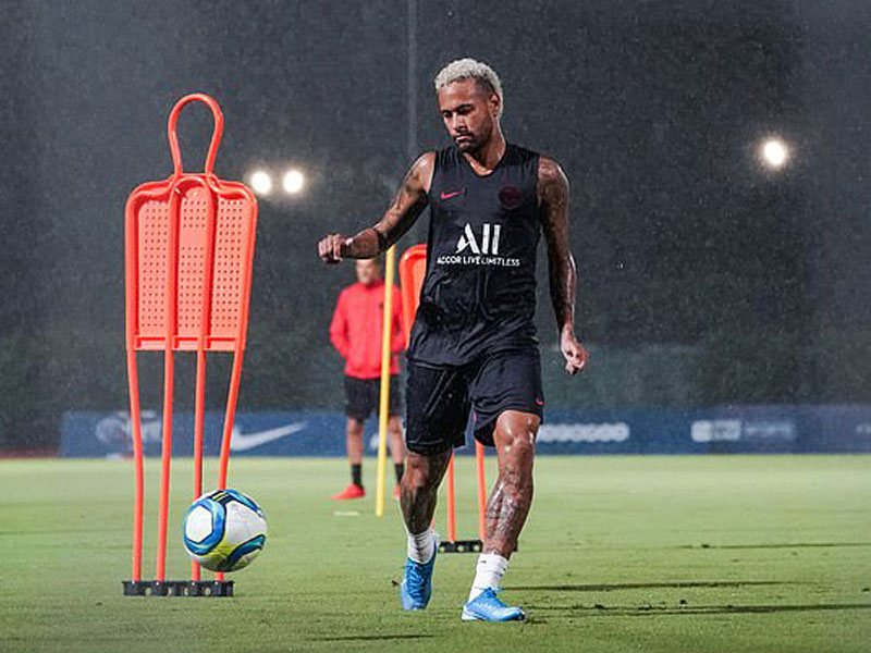 Image result for neymar training
