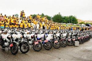 Image result for Dapo Abiodun Again! Ogun Governor Donates 100 Patrol Vehicles, 200 Bikes To Police