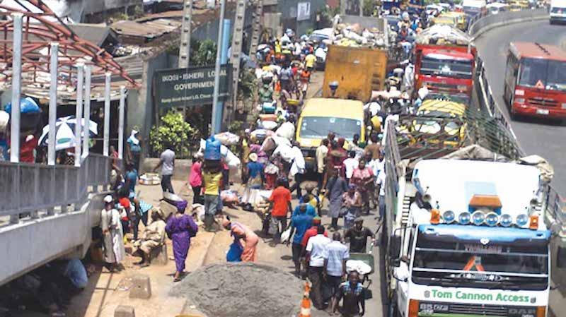 Lagos Begins Demolition of Ketu - Ikosi Fruit Market - THISDAY Newspapers