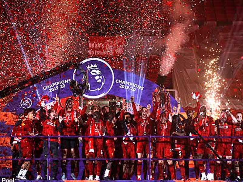 Champions Liverpool Get Trophy after Eight-goal Thriller ...
