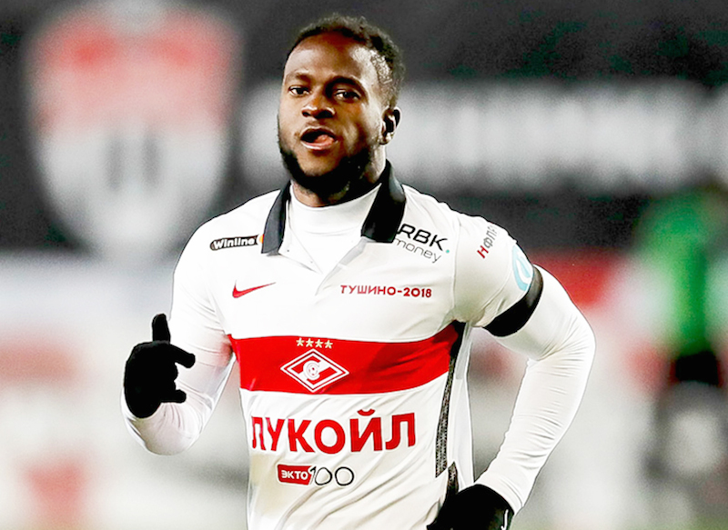 Victor Moses in Russia