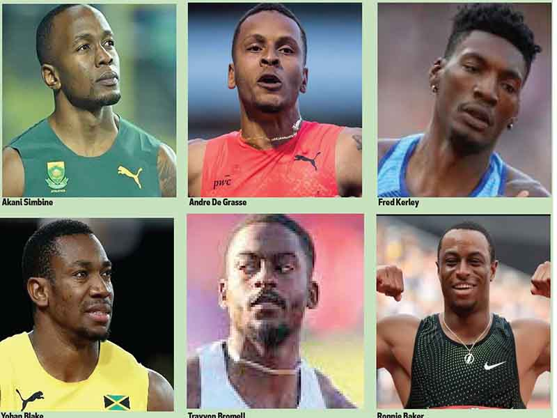 Who Rules the Track as 100m Gets to Nitty-gritty