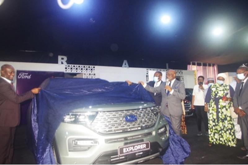 Coscharis Motors Reveals All New Ford Explorer at 2021 Lagos Motor Fair