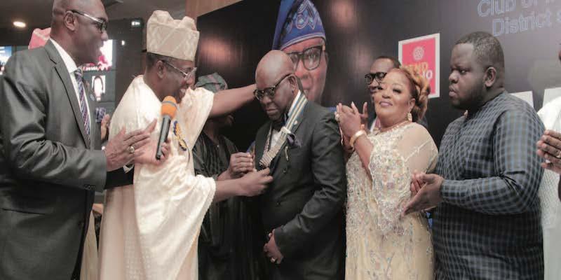Gbenga Badejo Becomes 54th President of Rotary Club, Ikeja