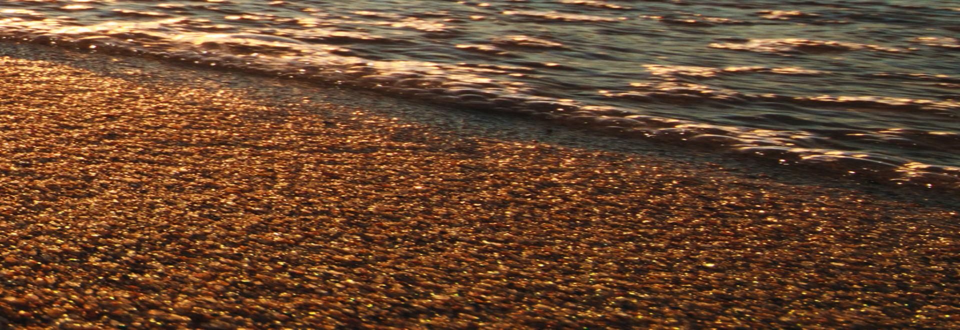 Syksyinen hiekkaranta
