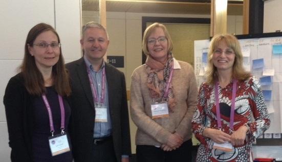 Sari Kujala (Aalto-yliopisto), Philip Scott (University of Portsmouth), Hannele Hyppönen ja Tarja Heponiemi (THL)
