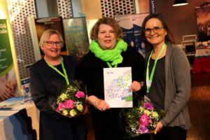 Ryhmätyöllistämisen avulla elinvoimaa kyliin -toimintamalli voitti TERVE-SOS 2018 -palkinnon.