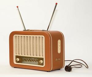 Vanha radio.