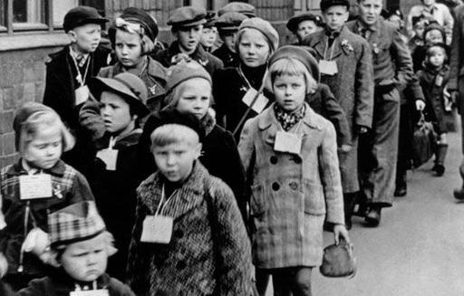 Finnish child evacuees arriving in Sweden, 1939 | History |  | Other, Beautiful and The ...