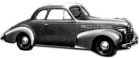 1938 to 1940 Oldsmobile series 70 Coupe replacement headliner from WLS Headliners