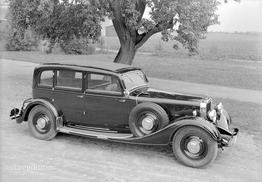 MAYBACH Typ DSH specs & photos - 1934, 1935, 1936, 1937 - autoevolution