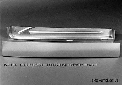 1940 Chevy Coupe & Sedan Door Bottom Kit