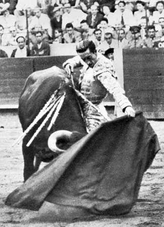 The world famous Manolete. He died 29 August 1947 following a goring in the right upper leg as ...