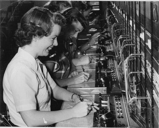 56 best Vintage Switchboards and Telephones 1950's images on  | Telephone, Headset and ...